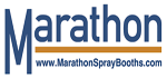 Marathon Spray Paint Booth Logo