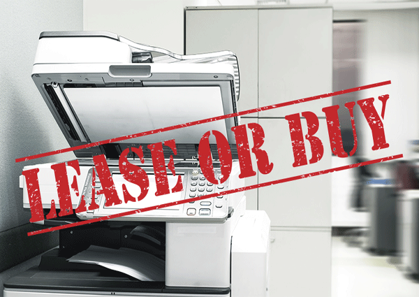 Copier Buy vs Lease Comparison