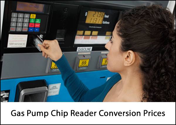Cost to Convert a Gas Pump to EMV Chip Reader