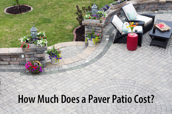 Compare 2020 Average Concrete Patios vs Interlocking ... on Backyard Patio Cost id=40993