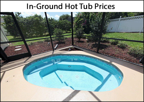 In Ground Hot Tub Cost Guide 2021 Everything You Need To Know About In Ground Hot Tub Prices