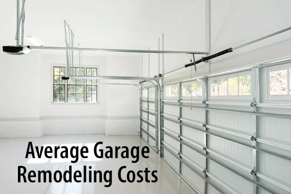 Garage Remdel Costs