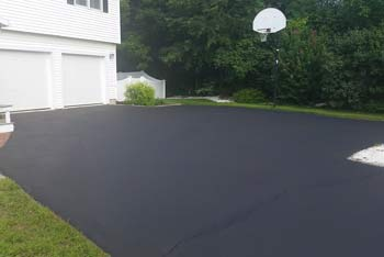 After Photo of Driveway Sealing Job
