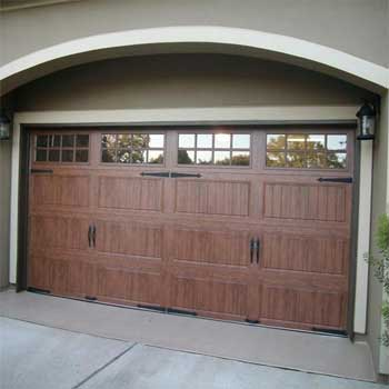 New generation of residential garage door styles add curb for Garage door styles