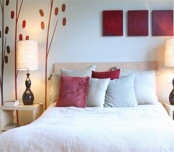Feng Shui Bedroom Red Colors