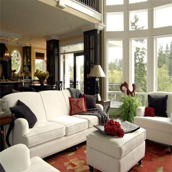 Feng Shui Living Room Red Pillow Colors