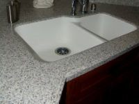 2018 average countertop cost comparison choosing the for Price solid surface countertops