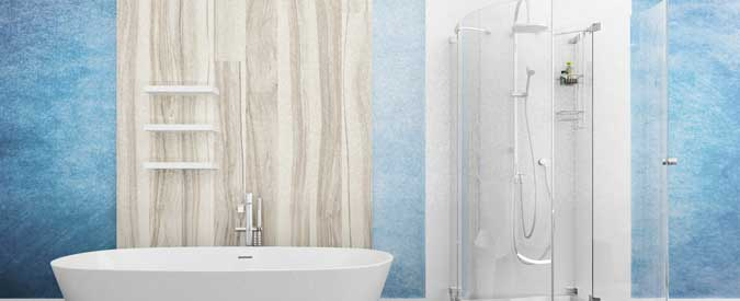Compare 2018 Average Shower Door vs Shower Curtain Costs - Pros ...