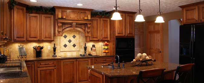 Compare the cost of birch vs maple cabinets for Cherry vs maple kitchen cabinets