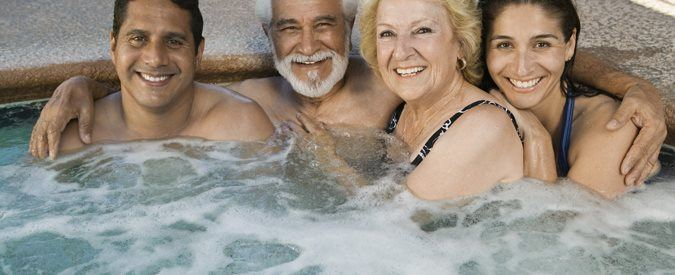In-Ground Hot Tubs