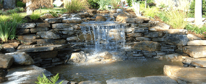 designing your garden waterfall - Garden Waterfalls