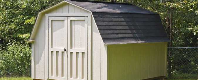 average shed prices