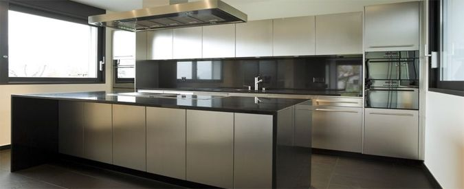 2018 average stainless steel kitchen cabinetry cost for Stainless steel kitchen cabinet price