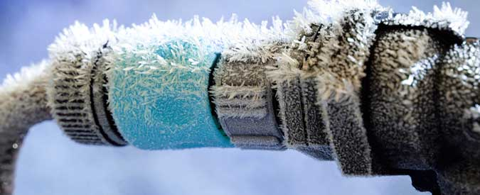 Fixing Frozen or Burst Pipes